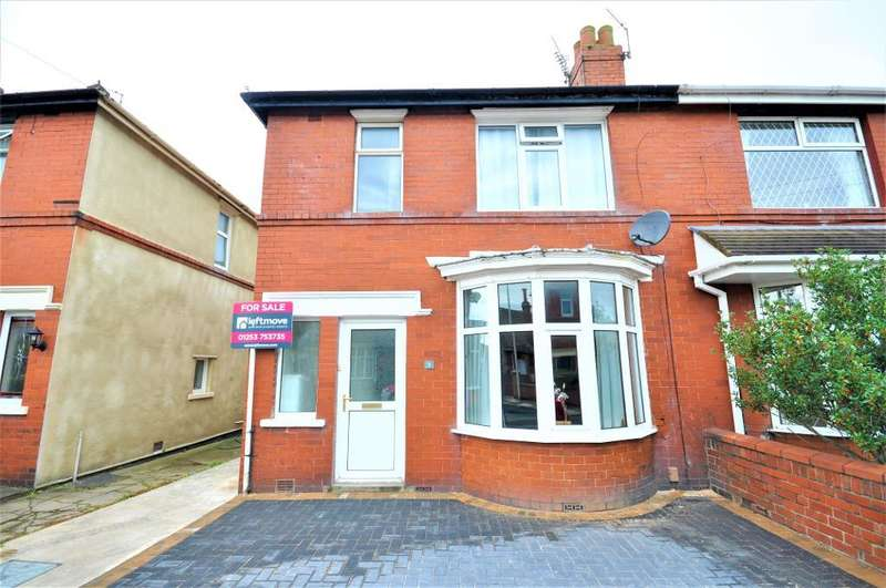 3 Bedrooms Semi Detached House for sale in Highgate, South Shore, Blackpool, Lancashire, FY4 2QJ