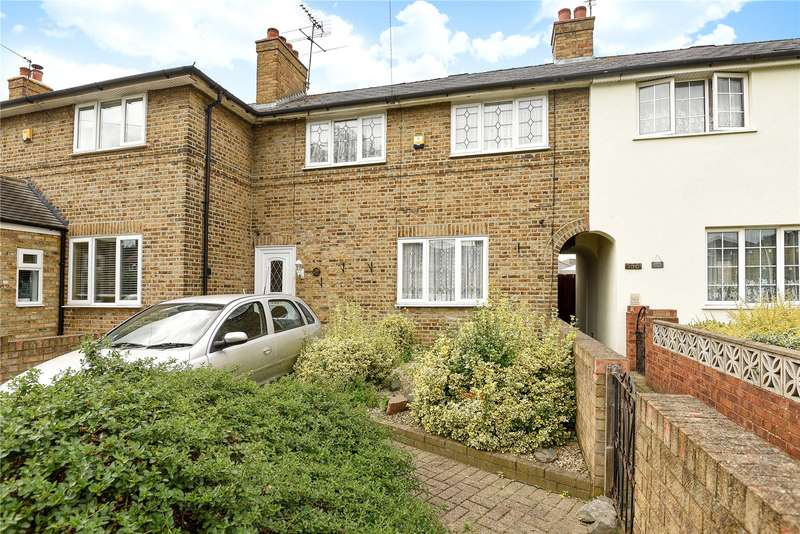 3 Bedrooms Terraced House for sale in Whitethorn Avenue, West Drayton, Middlesex, UB7