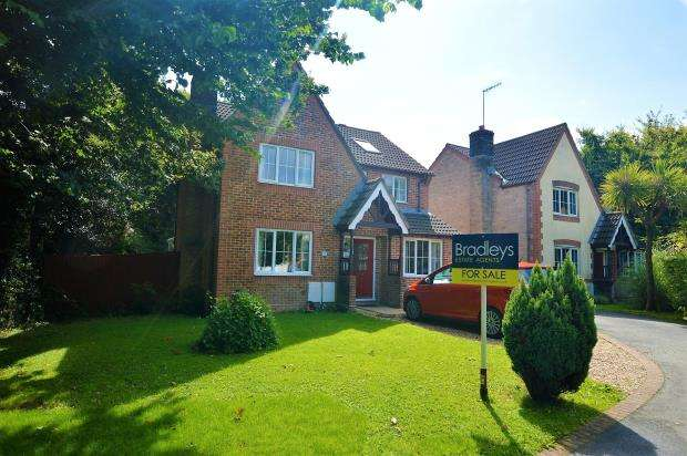 4 Bedrooms Detached House for sale in Berkeley Way, Ivybridge, Devon