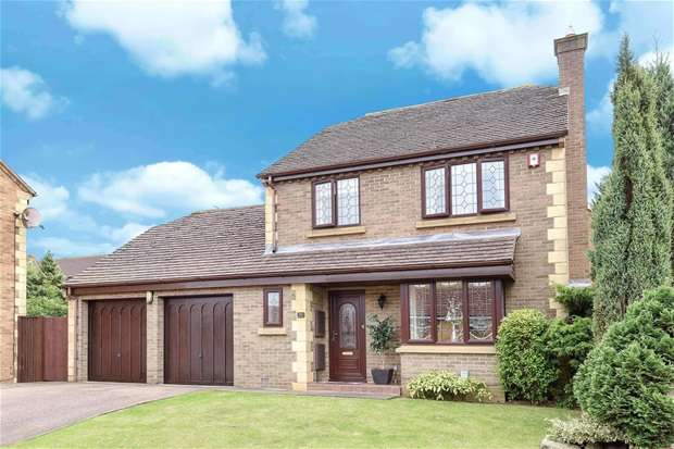 4 Bedrooms Detached House for sale in Quenby Way, Bromham