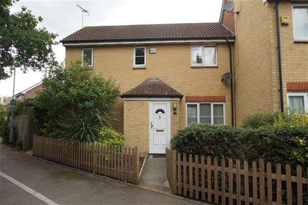 2 Bedrooms End Of Terrace House for sale in Chapels Close, Cippenham