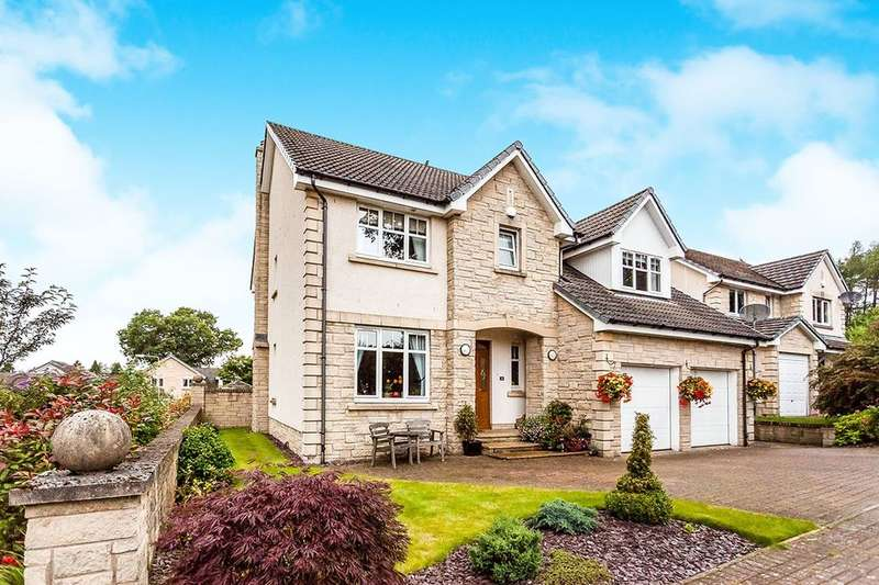 5 Bedrooms Detached House for sale in Balgeddie Park, Glenrothes, KY6