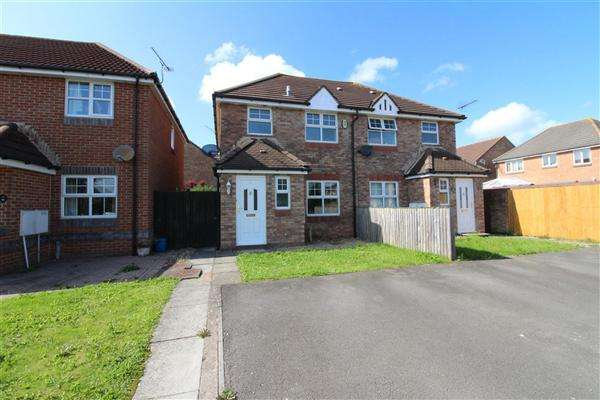 3 Bedrooms Semi Detached House for sale in kensington Park, Magor