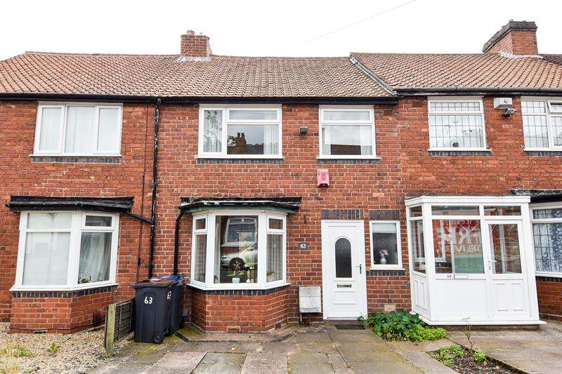 3 Bedrooms Terraced House for sale in Maas Road, Northfield, Birmingham
