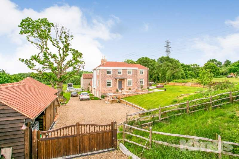5 Bedrooms Detached House for sale in Colts Hill, Five Oak Green, Tonbridge