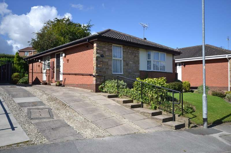 2 Bedrooms Detached Bungalow for sale in Meadow Vale, Outwood