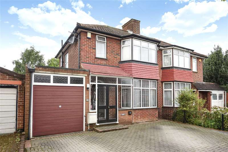 3 Bedrooms Semi Detached House for sale in Anmersh Grove, Stanmore, Middlesex, HA7