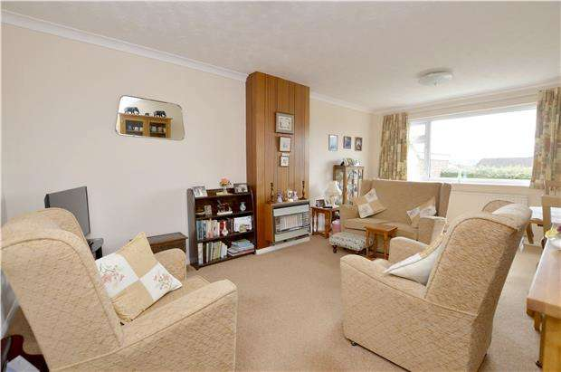 2 Bedrooms Semi Detached Bungalow for sale in 63 Humphreys Close, Stroud, Gloucestershire, GL5 4NX