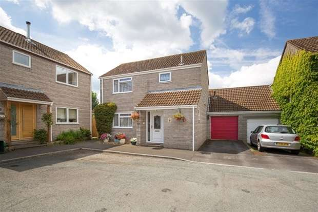 3 Bedrooms Link Detached House for sale in Holm Oaks, Butleigh, Glastonbury