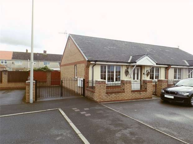 2 Bedrooms Semi Detached Bungalow for sale in Golwg Y Mor, Aberavon, Port Talbot, West Glamorgan