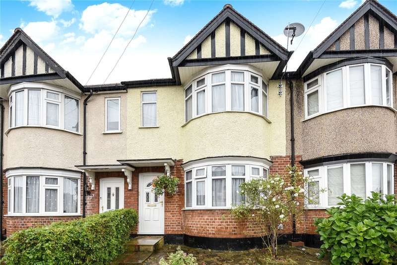 2 Bedrooms Terraced House for sale in Manningtree Road, South Ruislip, Middlesex, HA4