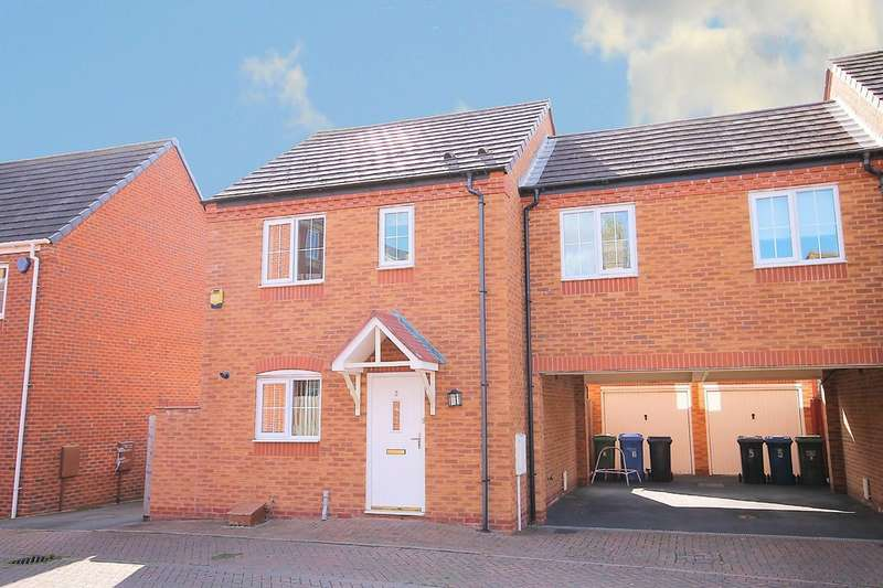 3 Bedrooms Semi Detached House for sale in Lagoon Road, Wilnecote, Tamworth B77 5GD