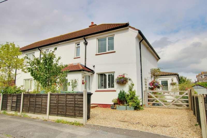 2 Bedrooms Semi Detached House for sale in Denzil Avenue, Netley Abbey