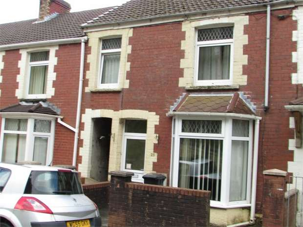 3 Bedrooms Terraced House for sale in Morgans Terrace, Pontrhydyfen, Port Talbot, West Glamorgan