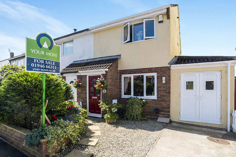 2 Bedrooms Semi Detached House for sale in Murton Park, Arlecdon, Frizington, CA26