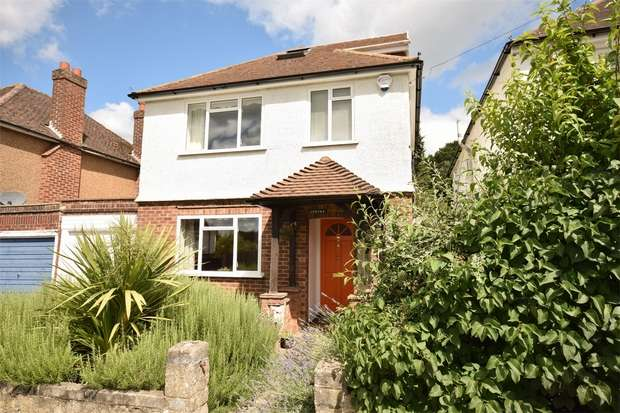 4 Bedrooms Detached House for sale in Lambarde Drive, Sevenoaks, Kent