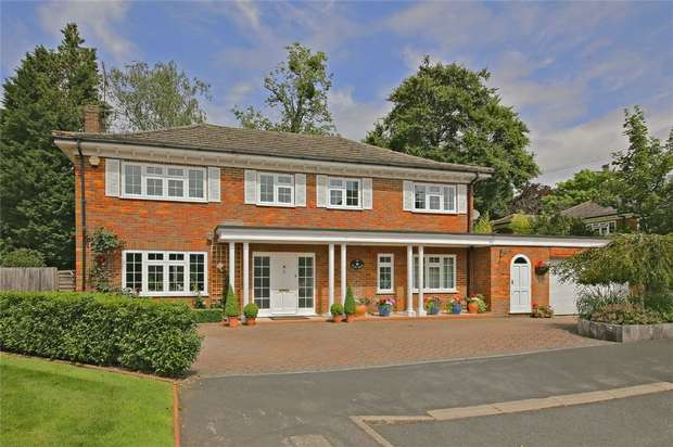 4 Bedrooms Detached House for sale in Lamorna Close, Radlett, Hertfordshire
