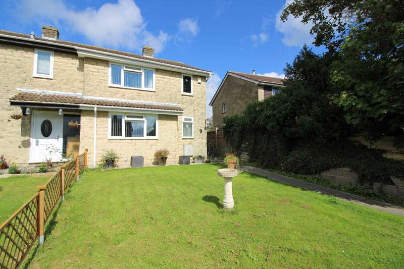 4 Bedrooms Semi Detached House for sale in Linsvale Close, Frome