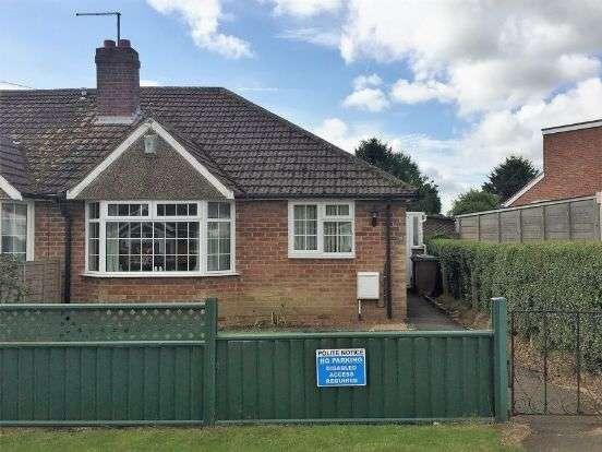 2 Bedrooms Semi Detached Bungalow for sale in Fuller Road, Moulton, Northampton NN3 7RA