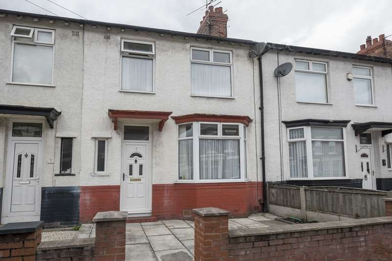 3 Bedrooms Terraced House for sale in Whitland, Liverpool, Merseyside, L6