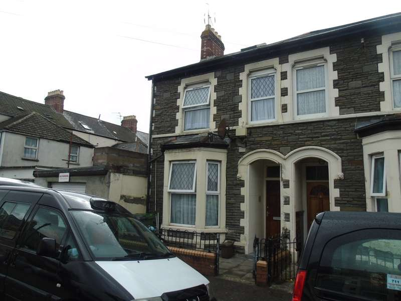 3 Bedrooms End Of Terrace House for sale in Stephenson Street, Cardiff