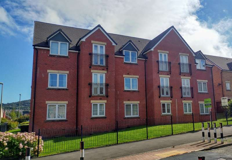 1 Bedroom Apartment Flat for sale in Knights Walk, Caerphilly