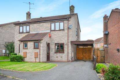2 Bedrooms Semi Detached House for sale in Cranswick Close, Mansfield, Nottingham, Nottinghamshire