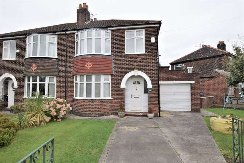 3 Bedrooms Semi Detached House for sale in Green Walk, Gatley