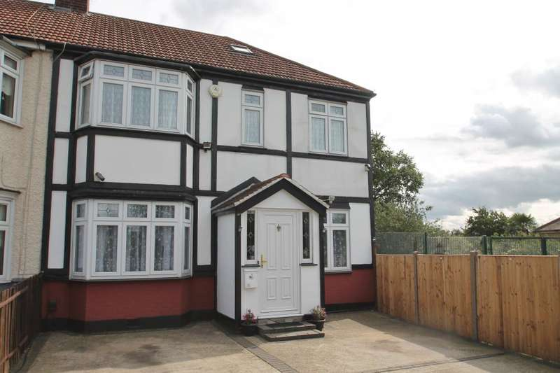 5 Bedrooms End Of Terrace House for sale in 134 FENCEPIECE ROAD, BARKINGSIDE