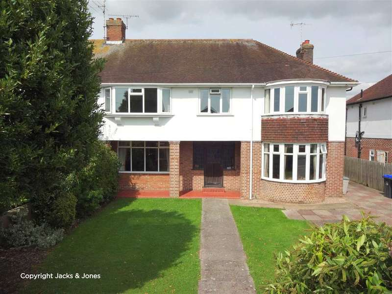 4 Bedrooms Semi Detached House for sale in Goring Road, Worthing, BN12