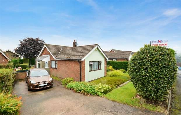 2 Bedrooms Semi Detached Bungalow for sale in Gleave Avenue, Bollington, Macclesfield, Cheshire