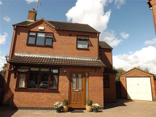 4 Bedrooms Detached House for sale in Ensor Close, Nuneaton
