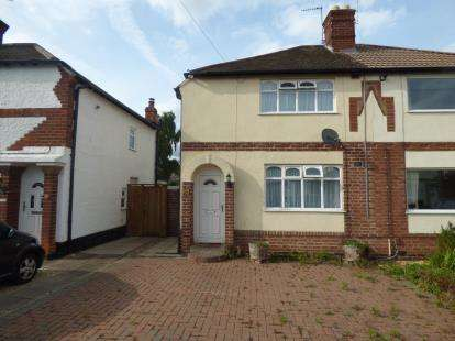 Semi Detached House for sale in Kingston Avenue, Wigston, Leicestershire