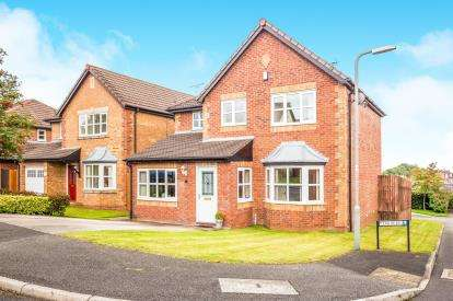 4 Bedrooms Detached House for sale in Tegid Drive, New Broughton, Wrexham, Wrecsam, LL11