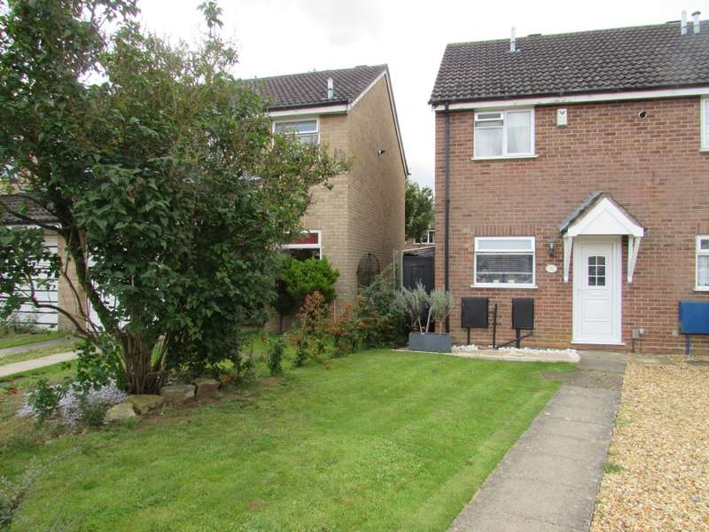2 Bedrooms Semi Detached House for sale in Thornfield, Northampton