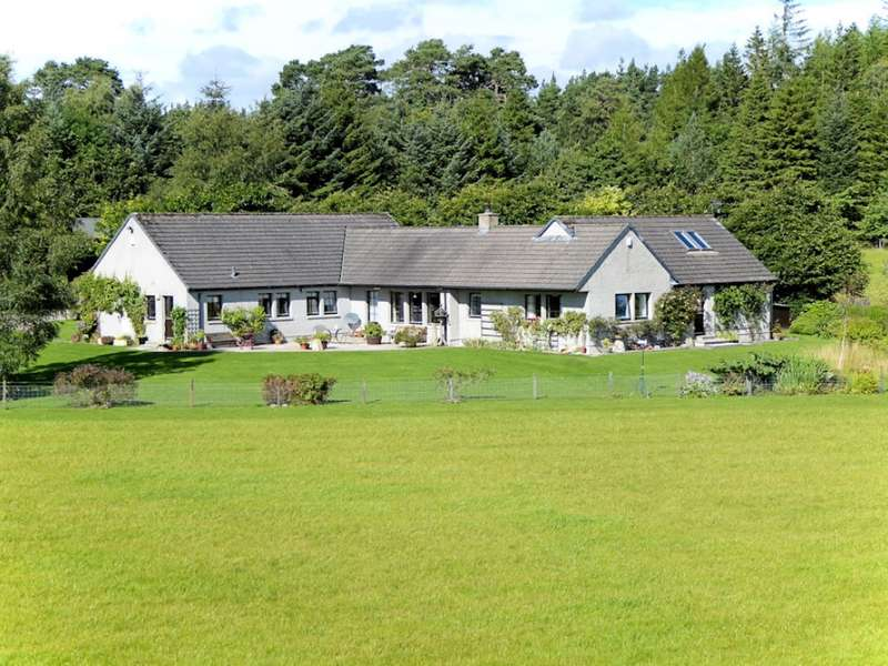 4 Bedrooms Bungalow for sale in Woodend House , Carron, Aberlour, AB38 7QP