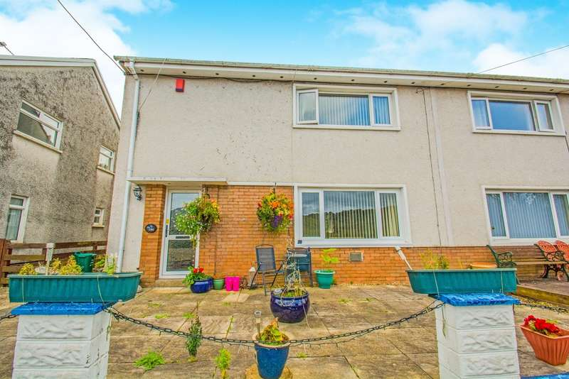 3 Bedrooms Semi Detached House for sale in Merthyr Road, Pontypridd