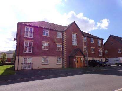 2 Bedrooms Flat for sale in Mona Way, Irlam, Manchester, Greater Manchester