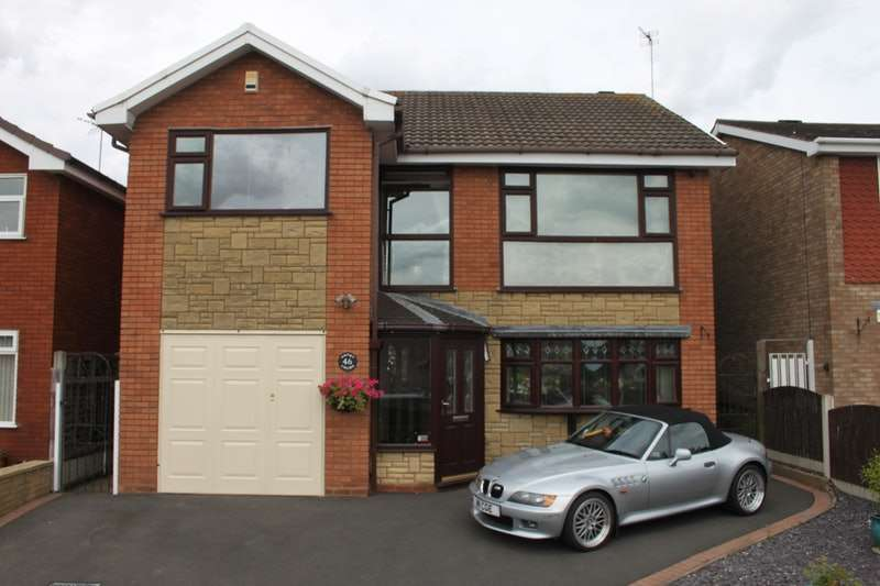 4 Bedrooms Detached House for sale in Shakespeare Drive, Kidderminster, Worcestershire, DY10