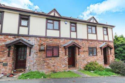 2 Bedrooms Terraced House for sale in Cae Bryn, St Asaph, Denbighshire, North Wales, LL17