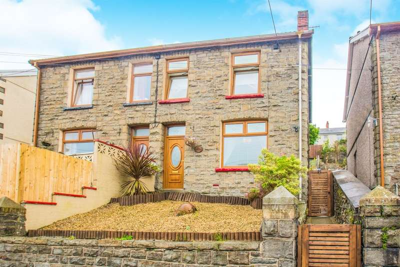 3 Bedrooms Semi Detached House for sale in Woodfield Terrace, Penrhiwceiber, Mountain Ash