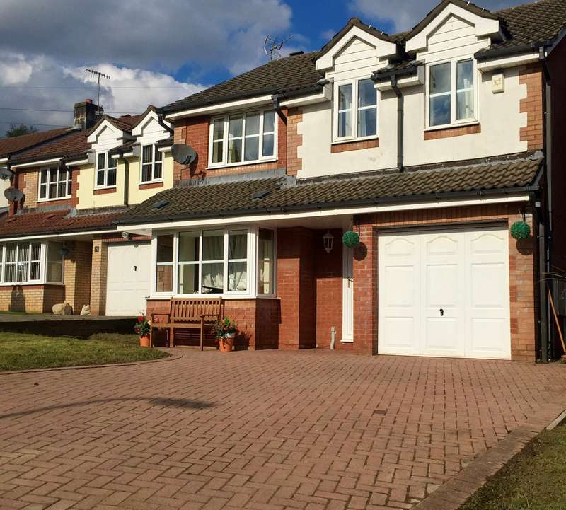 4 Bedrooms Detached House for sale in Birch Grove, Henllys, Cwmbran, NP44