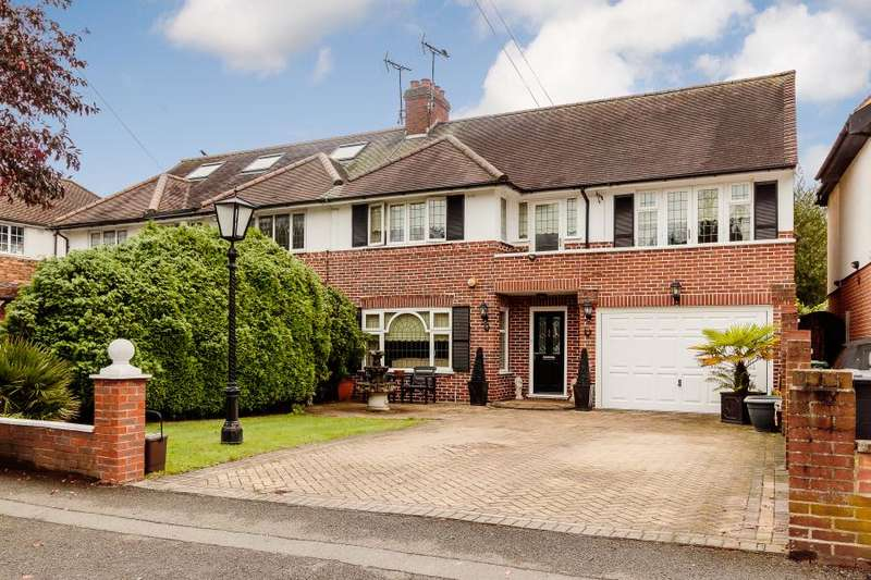 4 Bedrooms Semi Detached House for sale in Robin Hood Lane, Kingston Vale, London SW15