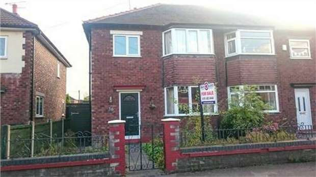 3 Bedrooms Semi Detached House for sale in Bideford Road, Offerton, Stockport, Cheshire