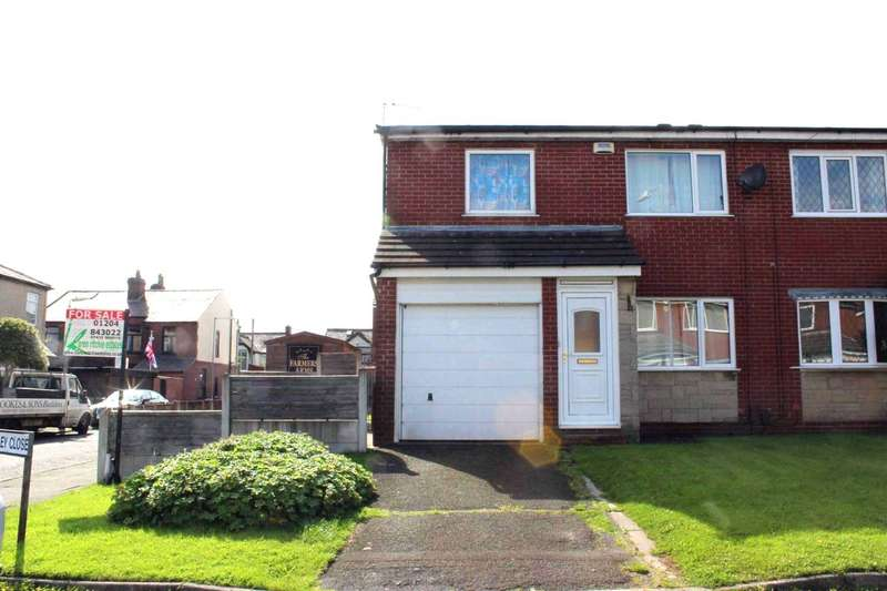 3 Bedrooms Semi Detached House for sale in Radley Close, Bolton