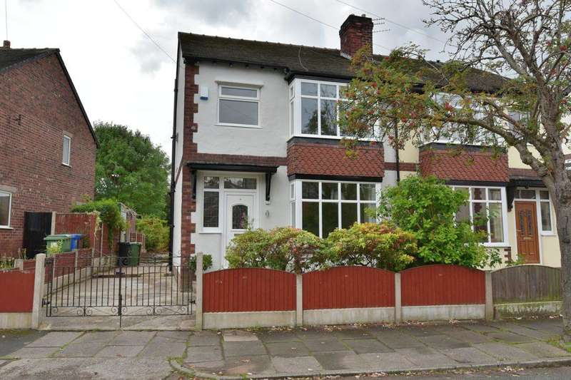 3 Bedrooms Semi Detached House for sale in Knypersley Avenue, Offerton, Stockport, SK2 5SS