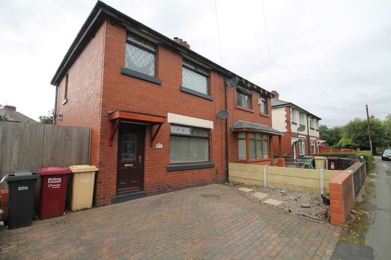 3 Bedrooms Semi Detached House for sale in Barncroft Road, Farnworth, Bolton, BL4 7AN