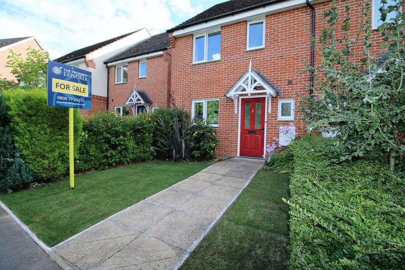 3 Bedrooms Terraced House for sale in Skippetts Gardens, Basingstoke, RG21