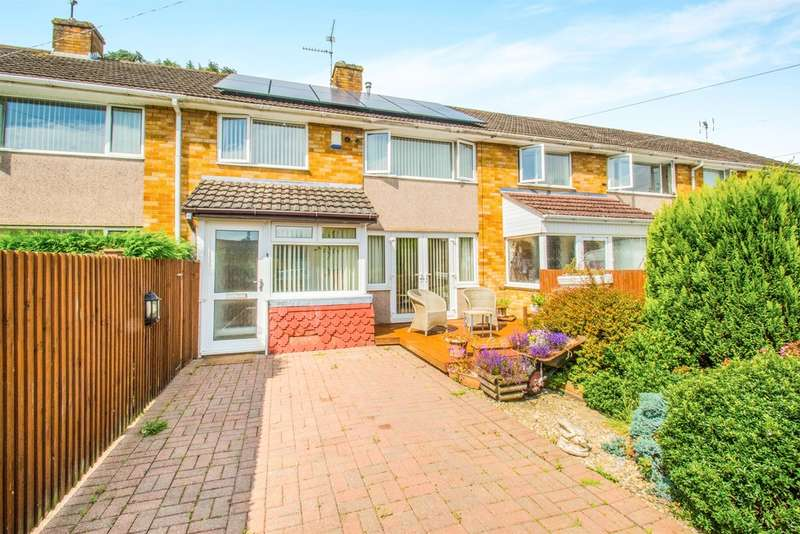 3 Bedrooms Terraced House for sale in Marysfield Close, Marshfield, Cardiff