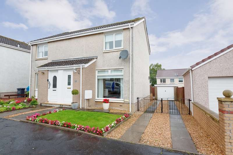 2 Bedrooms Semi Detached House for sale in Hyndshaw View, Law Village, Law, Lanarkshire, ML8 5JX